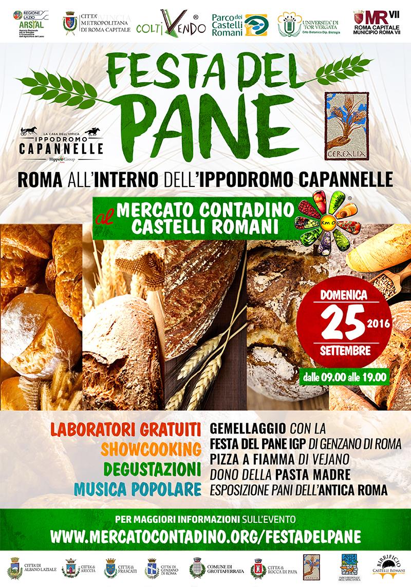 La FESTA del PANE al Mercato Contadino Capannelle di Roma