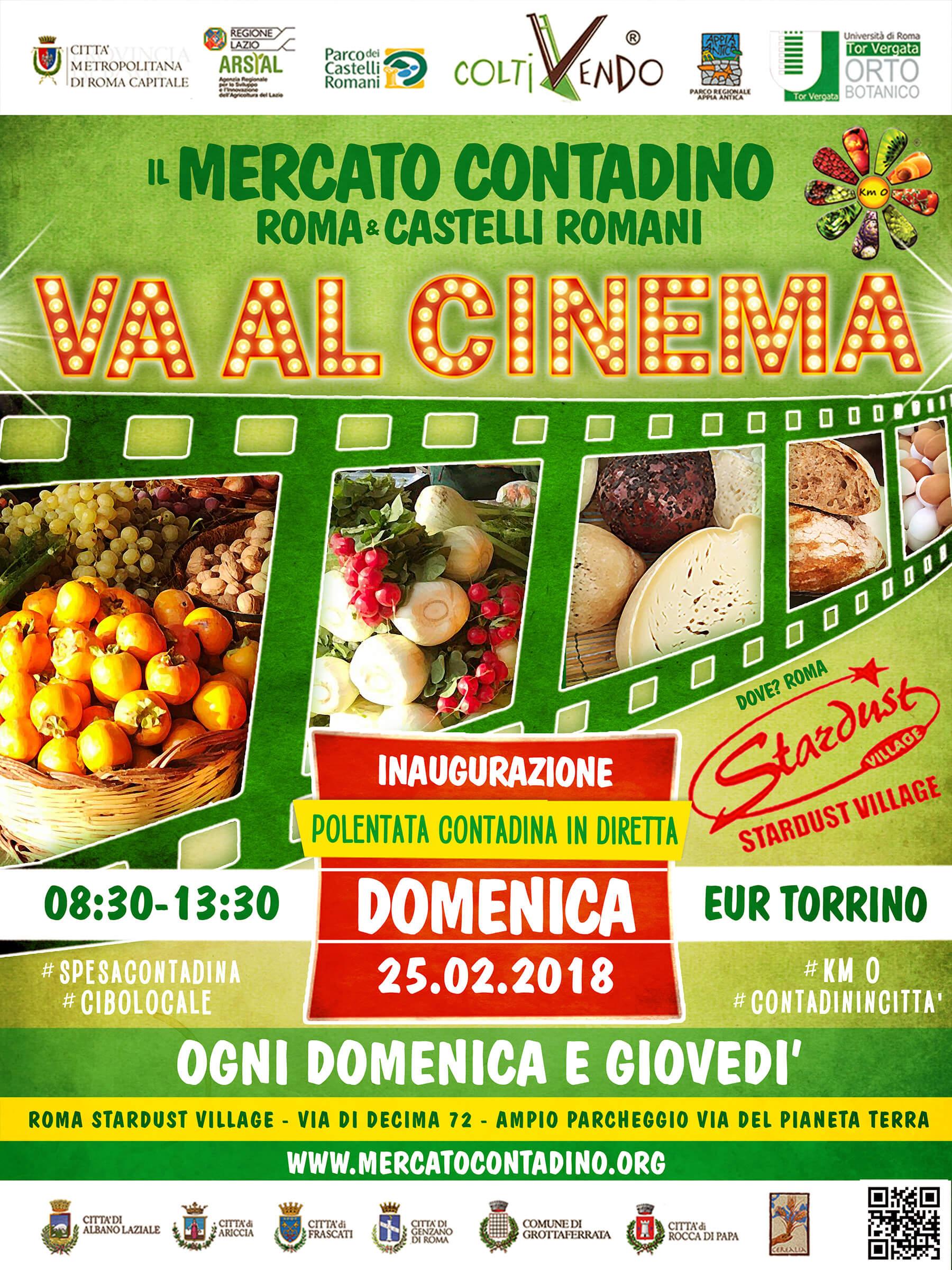 Il Mercato Contadino va al cinema!
