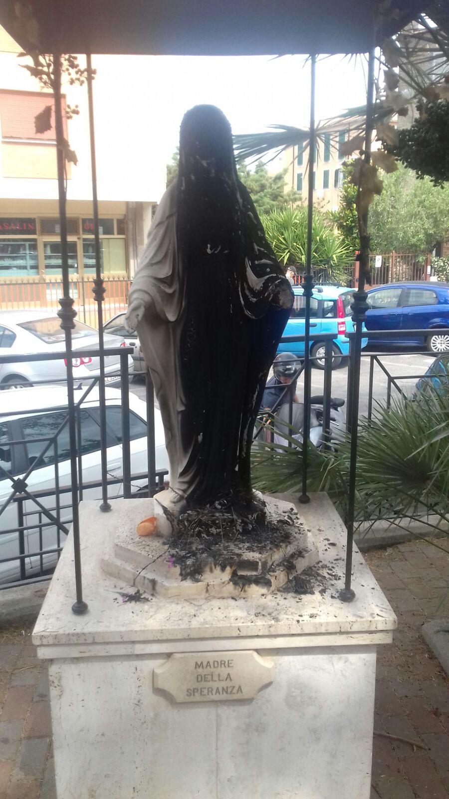ViviMarino, dopo il rogo della Statua della Madonnina delle Vascarelle, denuncia lo stato di degrado e abbandono di numerosi siti pubblici