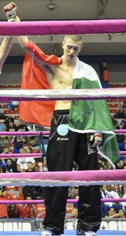 FULL CONTACT. Il campione del mondo Gabriele Casella protagonista nel bilaterale Italia-Norvegia dopo l'incontro con il Presidente della Repubblica.