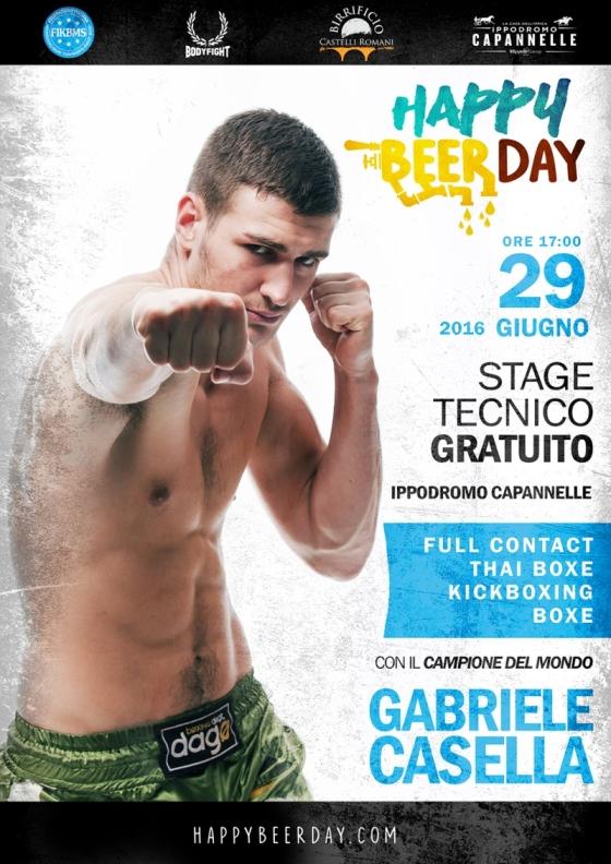 IL CAMPIONE CASELLA ALL'IPPODROMO CAPANNELLE ALL'HAPPY BEER DAY