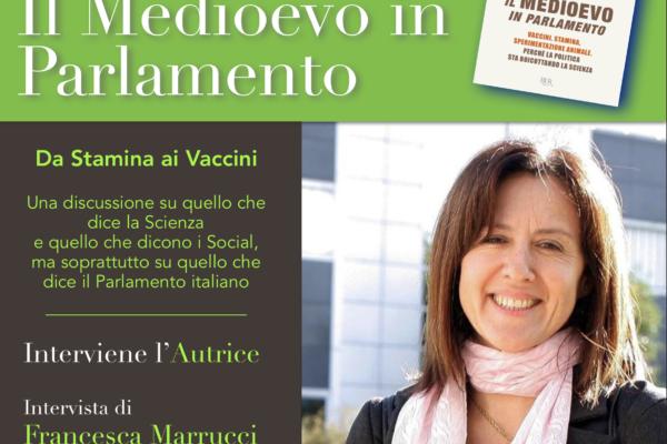 Pantelleria: la Sen. Elena Fattori presenta il suo libro 'Il Medioevo in Parlamento' al Castello